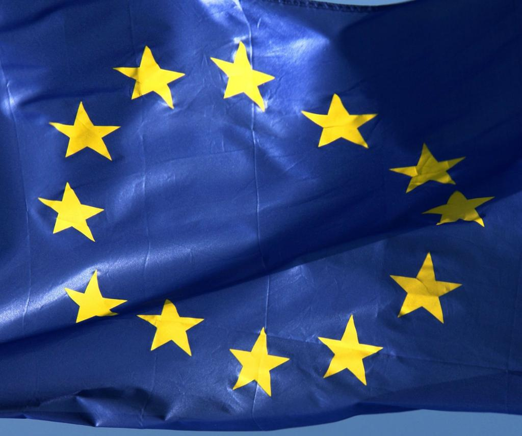 EU-flagget. Foto.