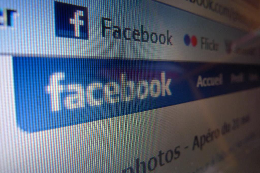 Facebook. Foto.