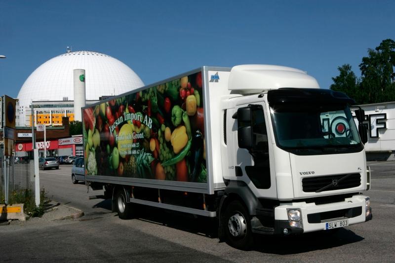 Som yrkessjåfør treng du kunnskapar om reglane for transportmerking av gods.
