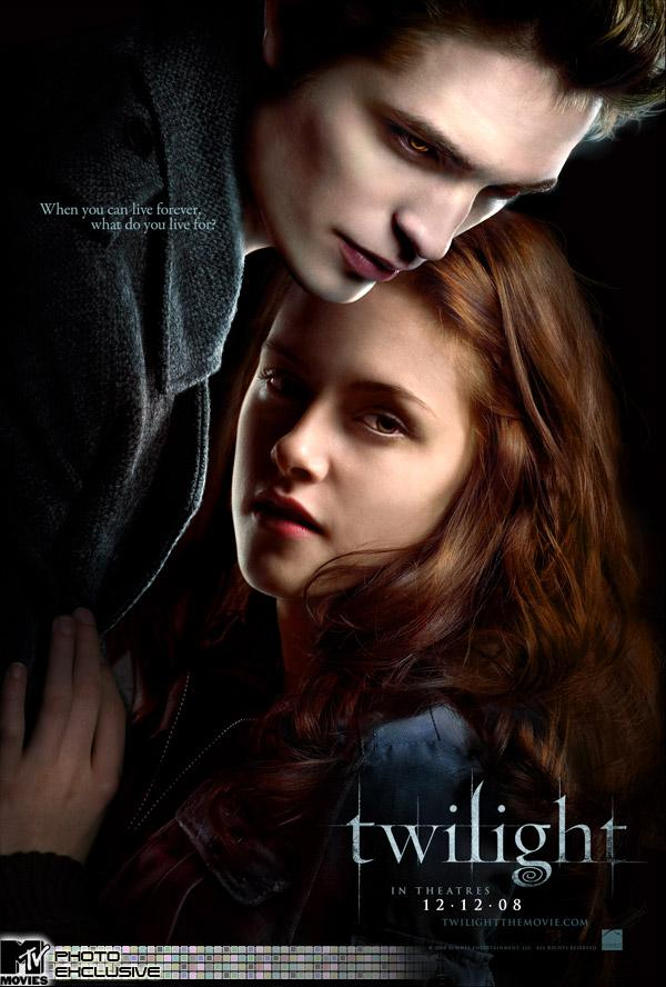 Motif from the movie Twilight. Poster.