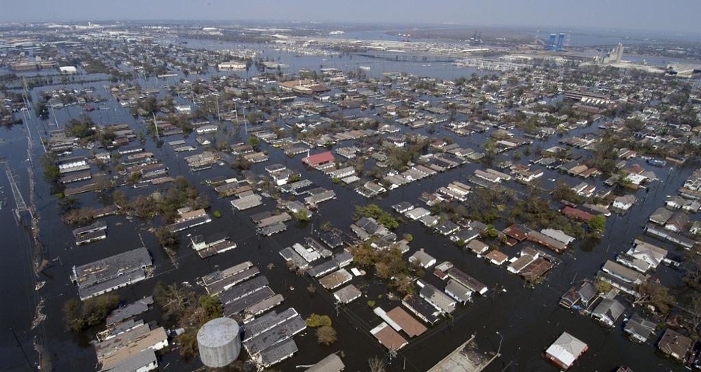 New Orleans etter orkanen Katrinas herjinger