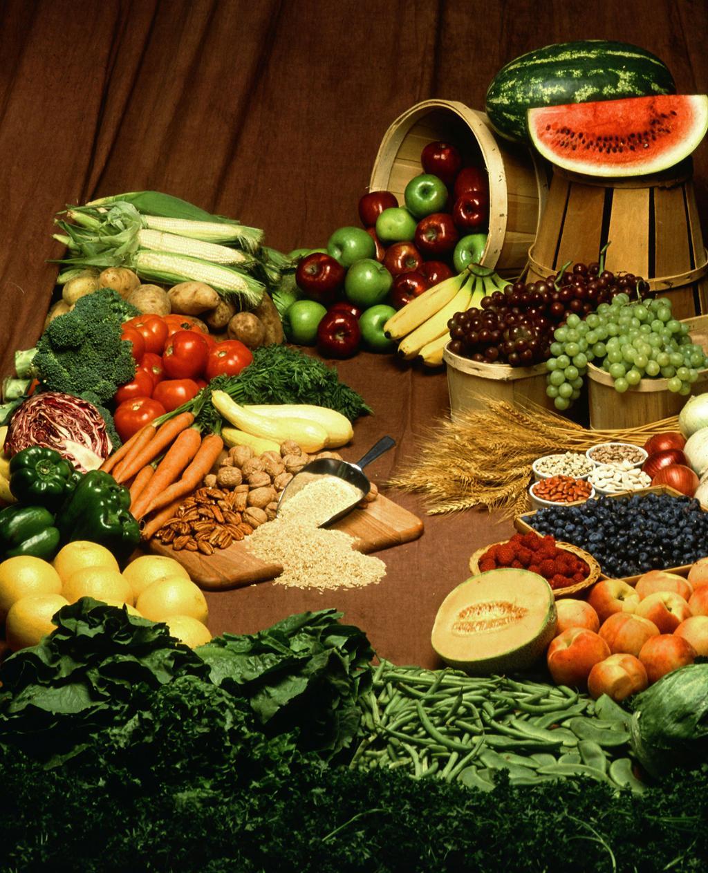 Frukt og grønnsaker. Foto.