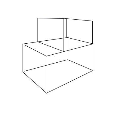 Formelement i sort på hvit bakgrunn. Illustrasjon.