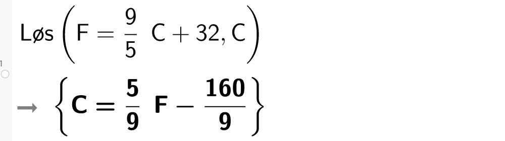 Formelregning i GeoGebra. Bilde.