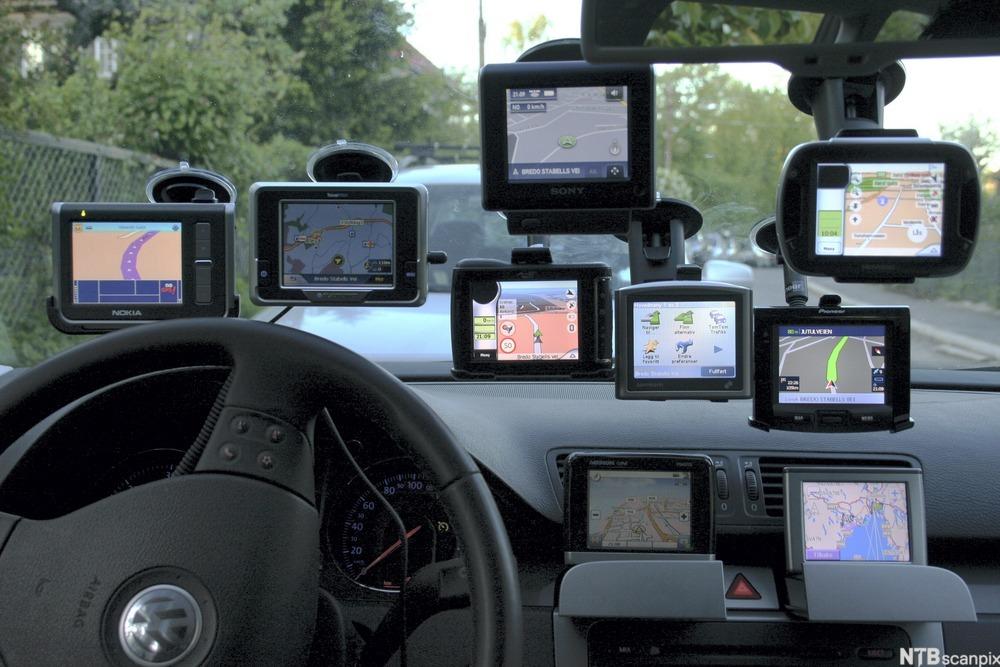 Bilde av GPS