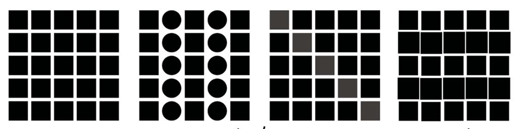 Grupper og linjer. Grafisk.