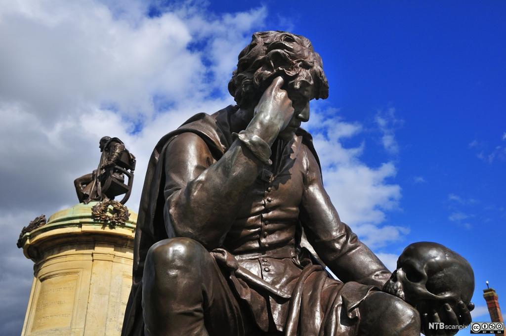 Statue of Hamlet, Stratford-upon-Avon