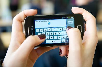 Handys an Schulen