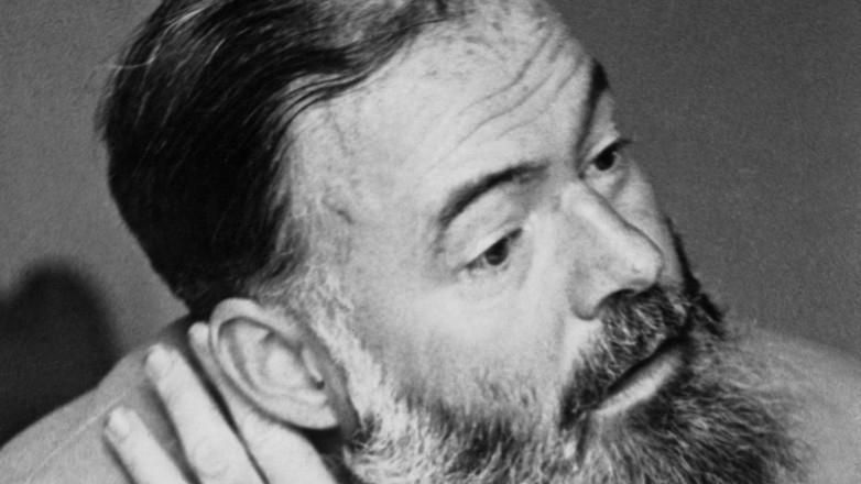 Ernest Hemingway. Foto.