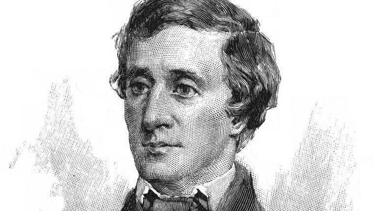 Henry David Thoreau. Foto.