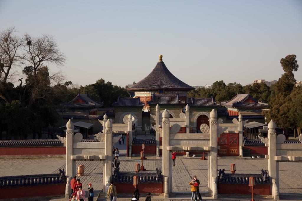 Himmelens tempel i Beijing. Foto.
