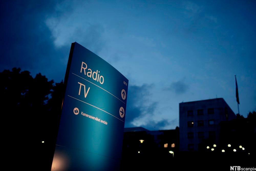 NRK-bygget på Marienlyst i Oslo