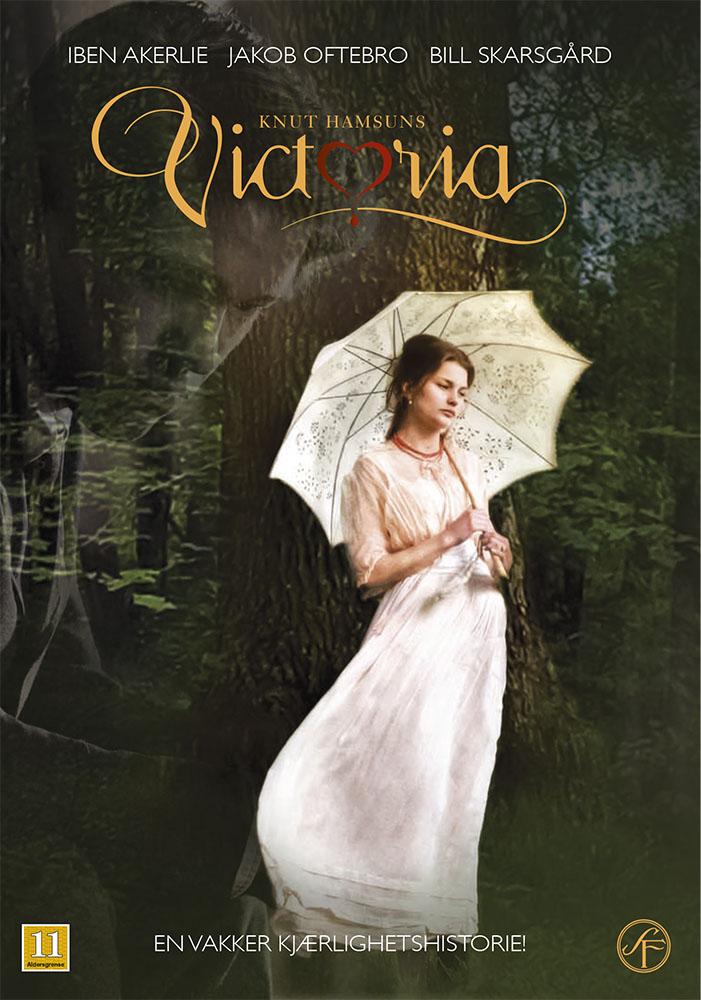 Bildet er filmplakaten til Hamsunds Victoria