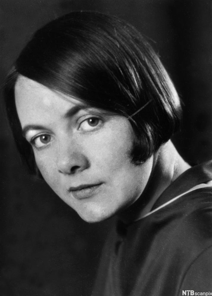 Portrett av Karin Boye ca. 1925