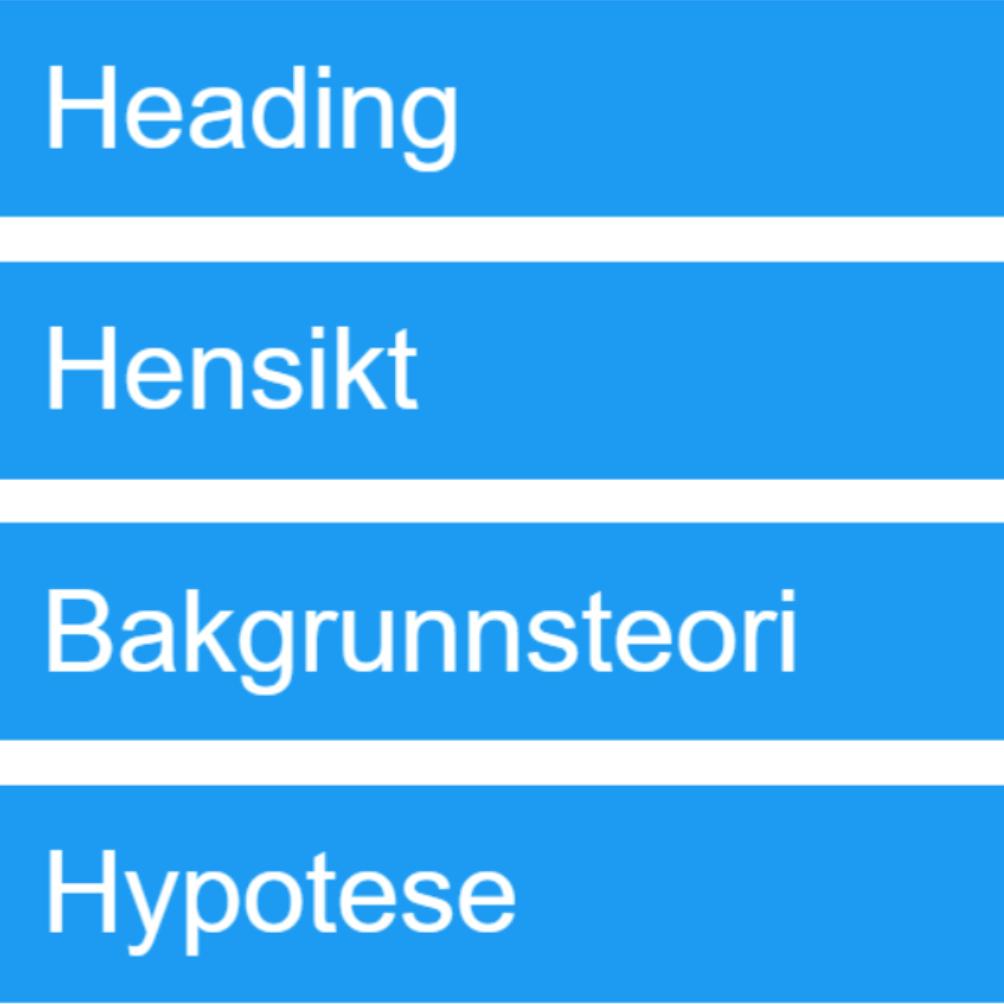 Rapportmal. Skjermdump av interaktiviteten. Illustrasjon.