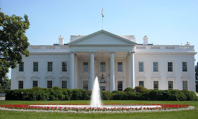 Det hvite hus i Washington D.C. foto.
