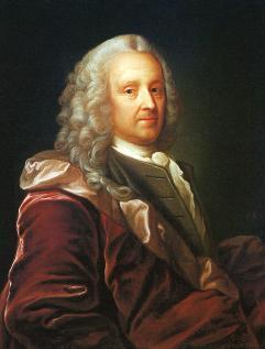 Ludvig Holberg. Portrett.