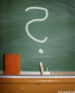 Bilde av et spørsmålstegn