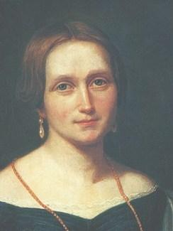 Portrett av Camilla Collett. Foto.