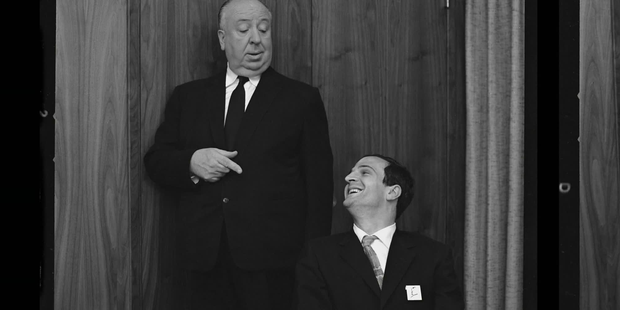 Utsnitt fra filmen Hitchcock / Truffaut.