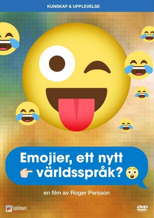 Filmplakaten til filmen Emojier, et nytt verdensspråk?.