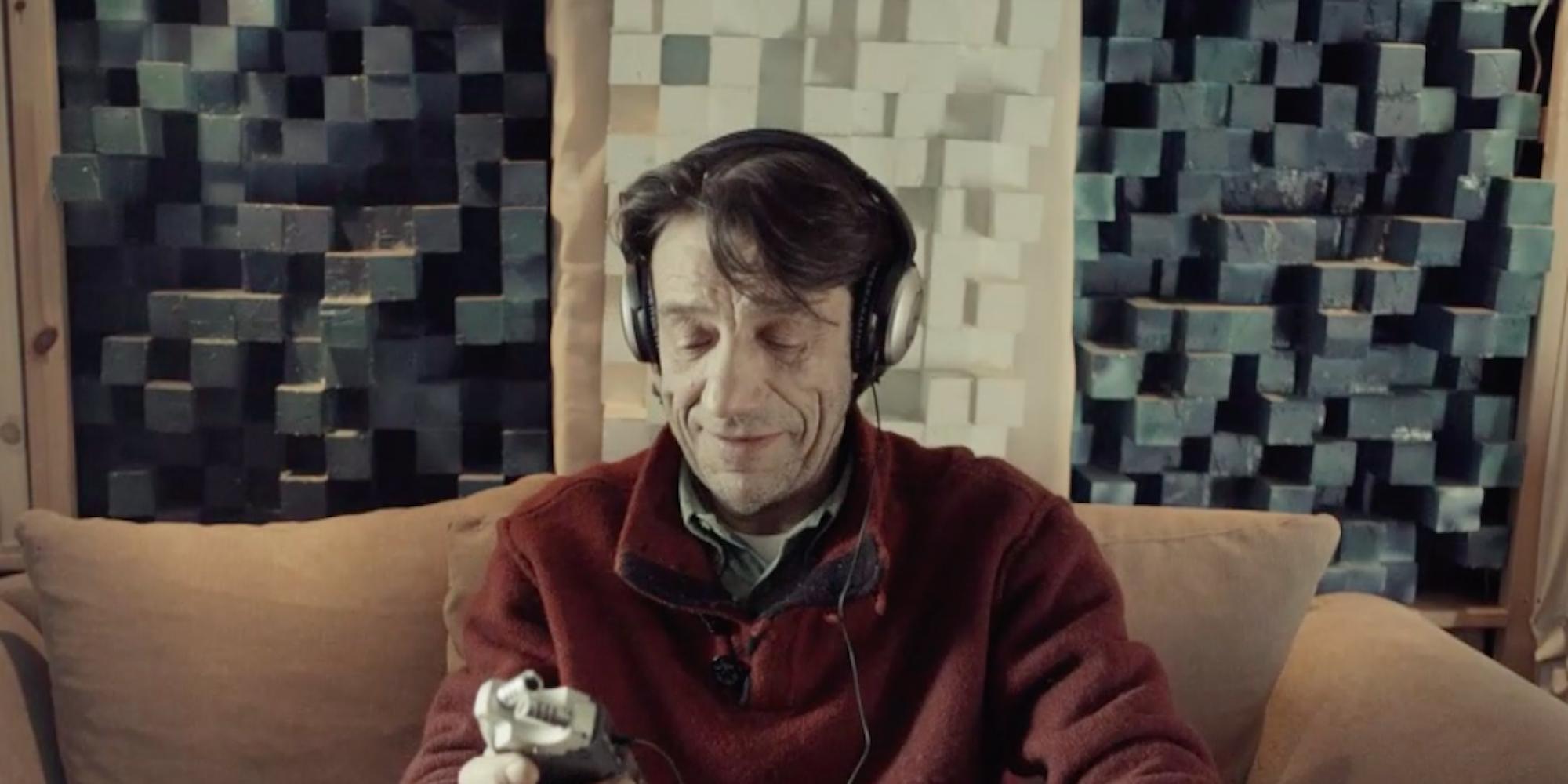 Utsnitt fra kortfilmen Snø.