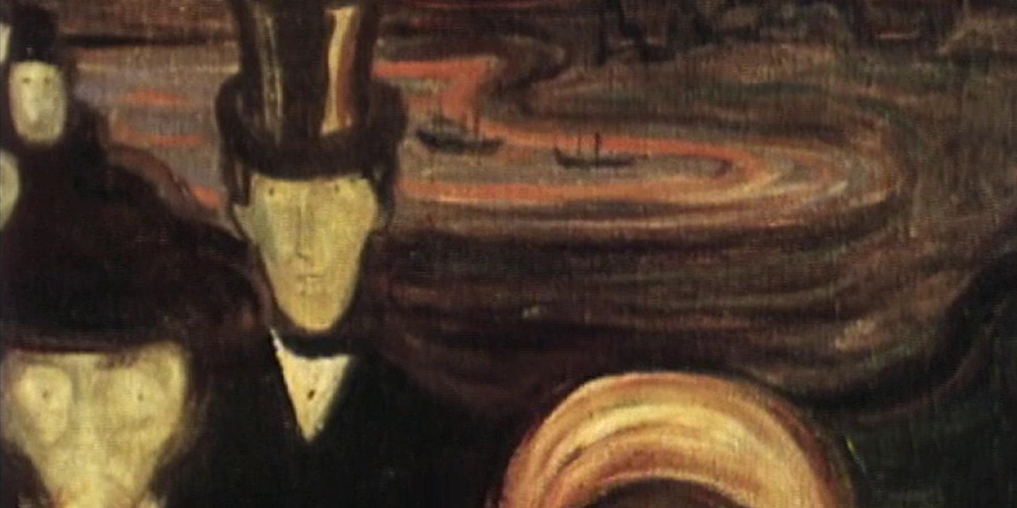 Utsnitt fra filmen Edvard Munch 1863–1944.
