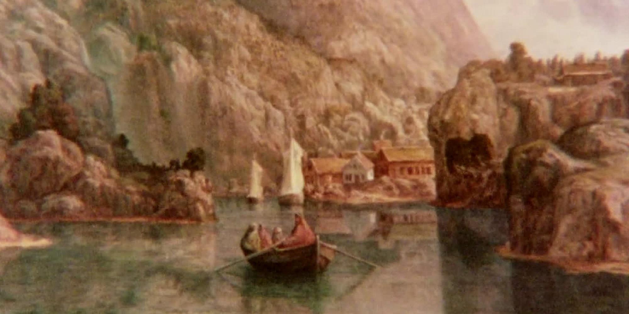 Utsnitt fra filmen På sporet etter Lars Hertervig.