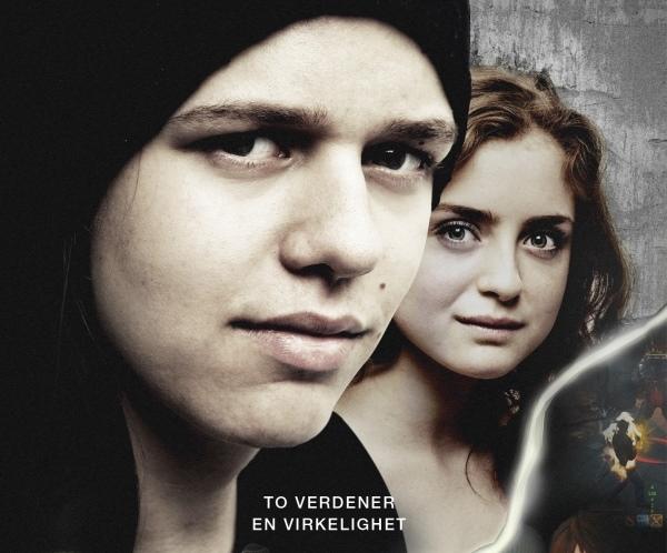 Nærbilde av to ungdommer. Fra filmen IRL. Foto.