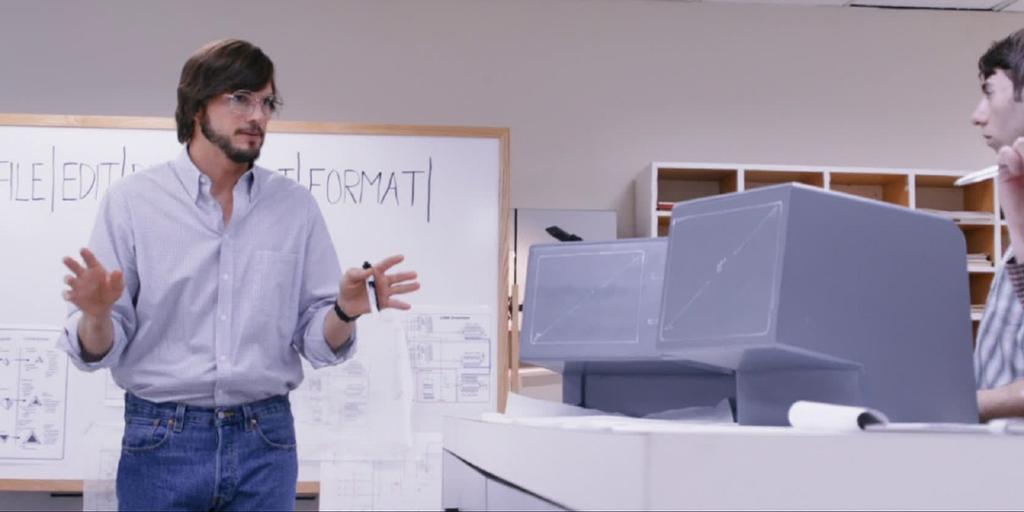 Utsnitt fra filmen Jobs.