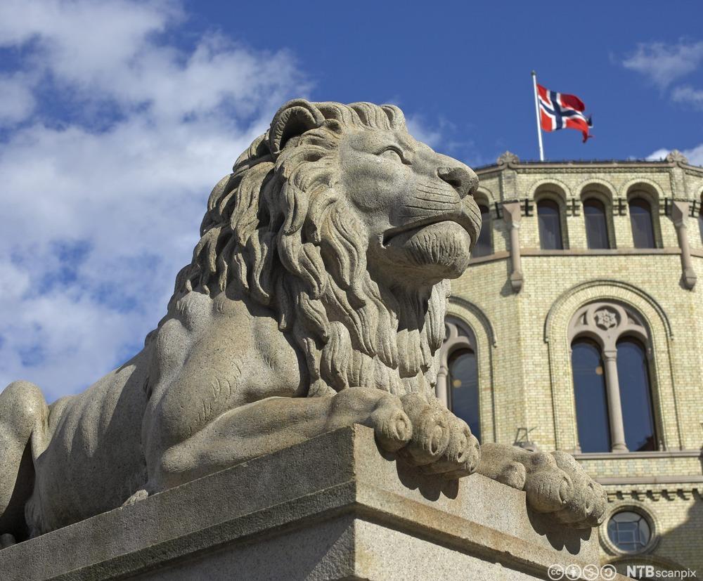 Stortinget. Foto.