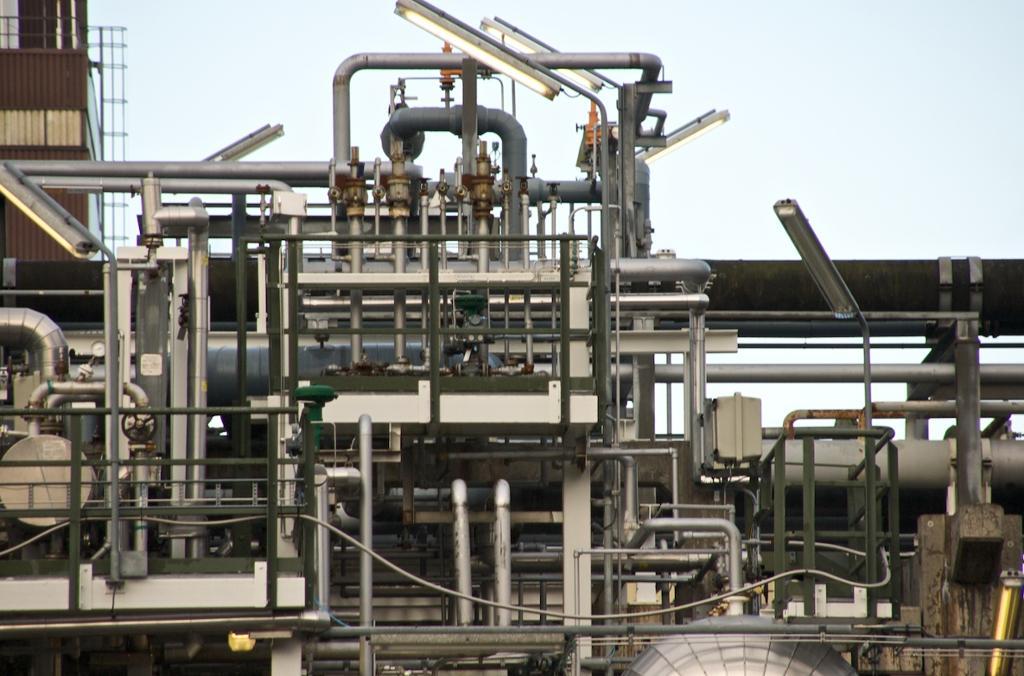 Industrielt røropplegg