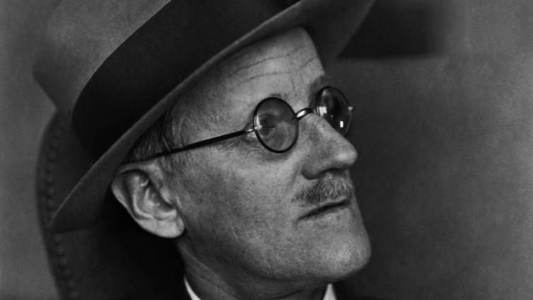 James Joyce. Foto.