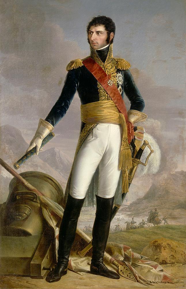 Karl XIV Johan. Maleri.