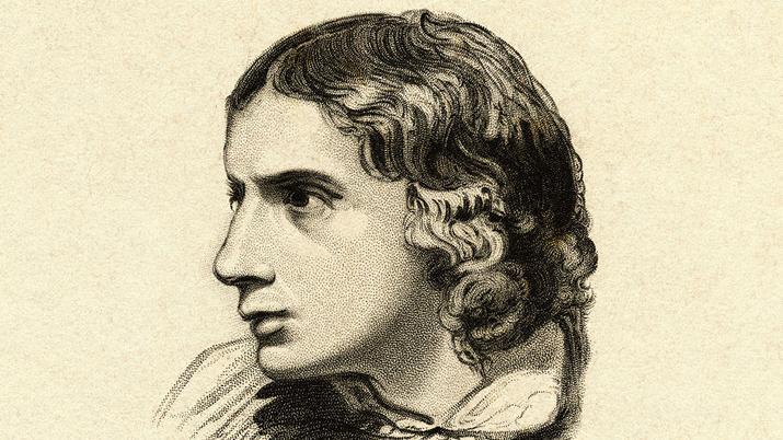 John Keats. Foto.