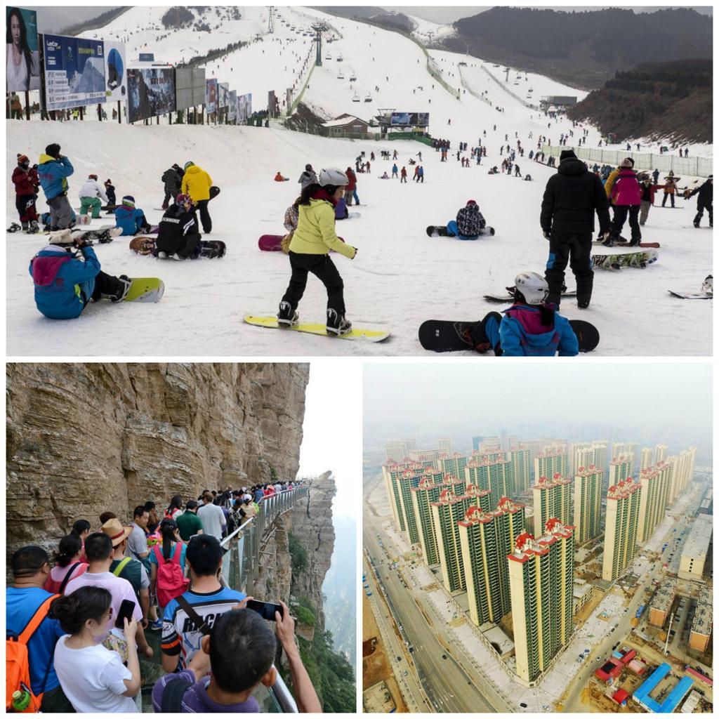Turistattraksjoner i Nord-Kina. Foto.