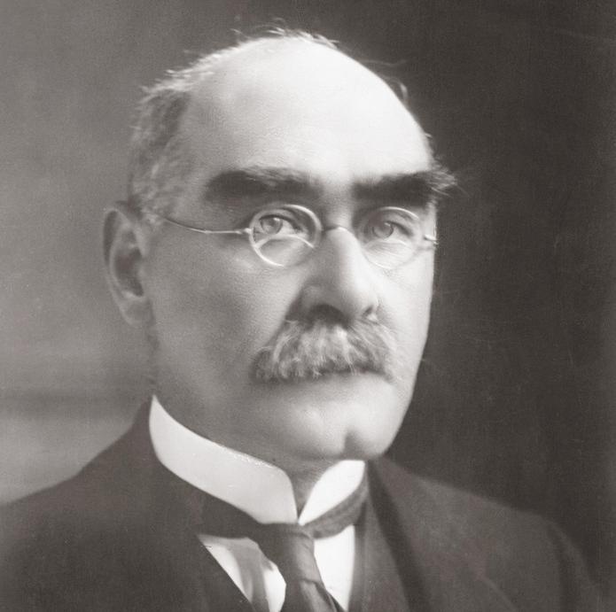 Forfatteren Rudyard Kipling. Foto.