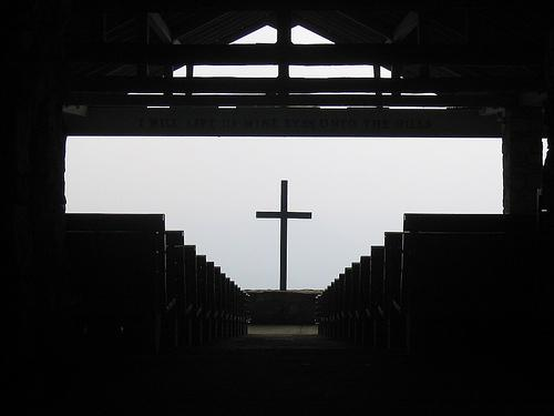 A small church in the Southern United States. Photo.