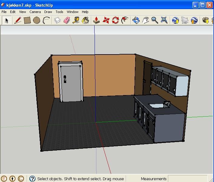 Kitchen - Sketch Up