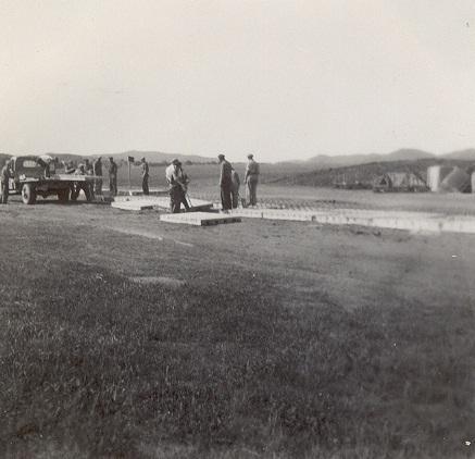 Anleggsvirksomhet på Kjevik flyplass