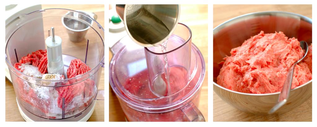 Bilde av hvordan man lager kjøttfarse trinn for trinn