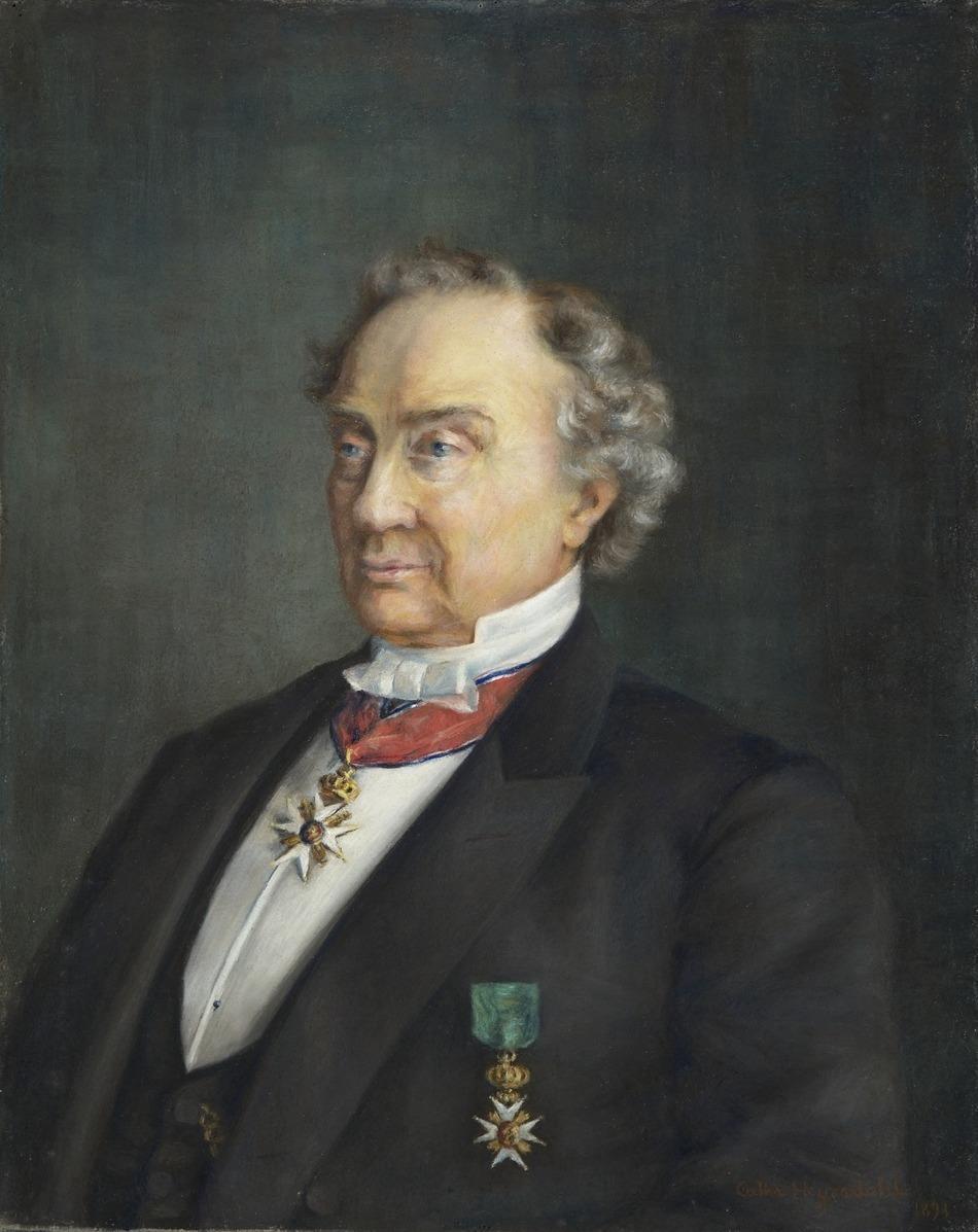 Portrett av Knud Graah. Maleri.