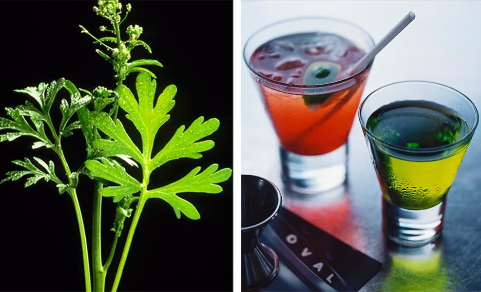 Kollasj: aromatisert sterkvin