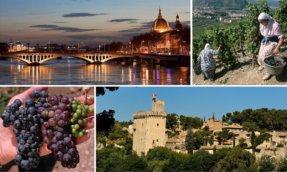 Kollasj: Côtes du Rhône