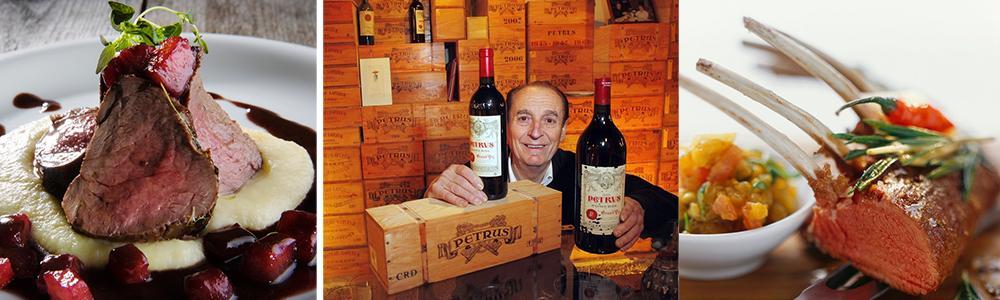 Kollasj: mat og vin