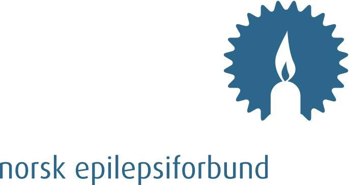 Norsk epilepsiforbund sin logo. Illustrasjon.