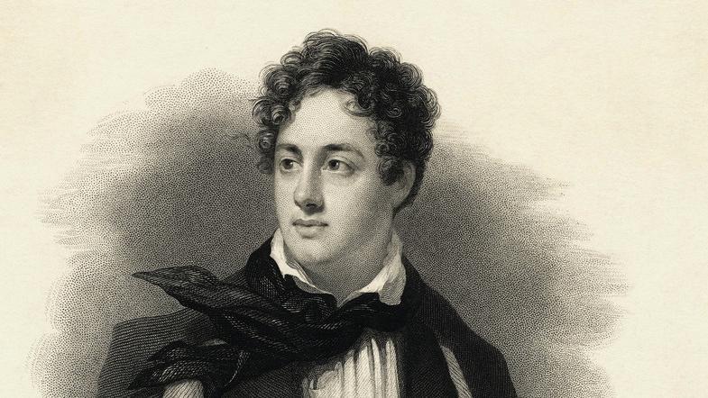 Lord Byron. Foto.