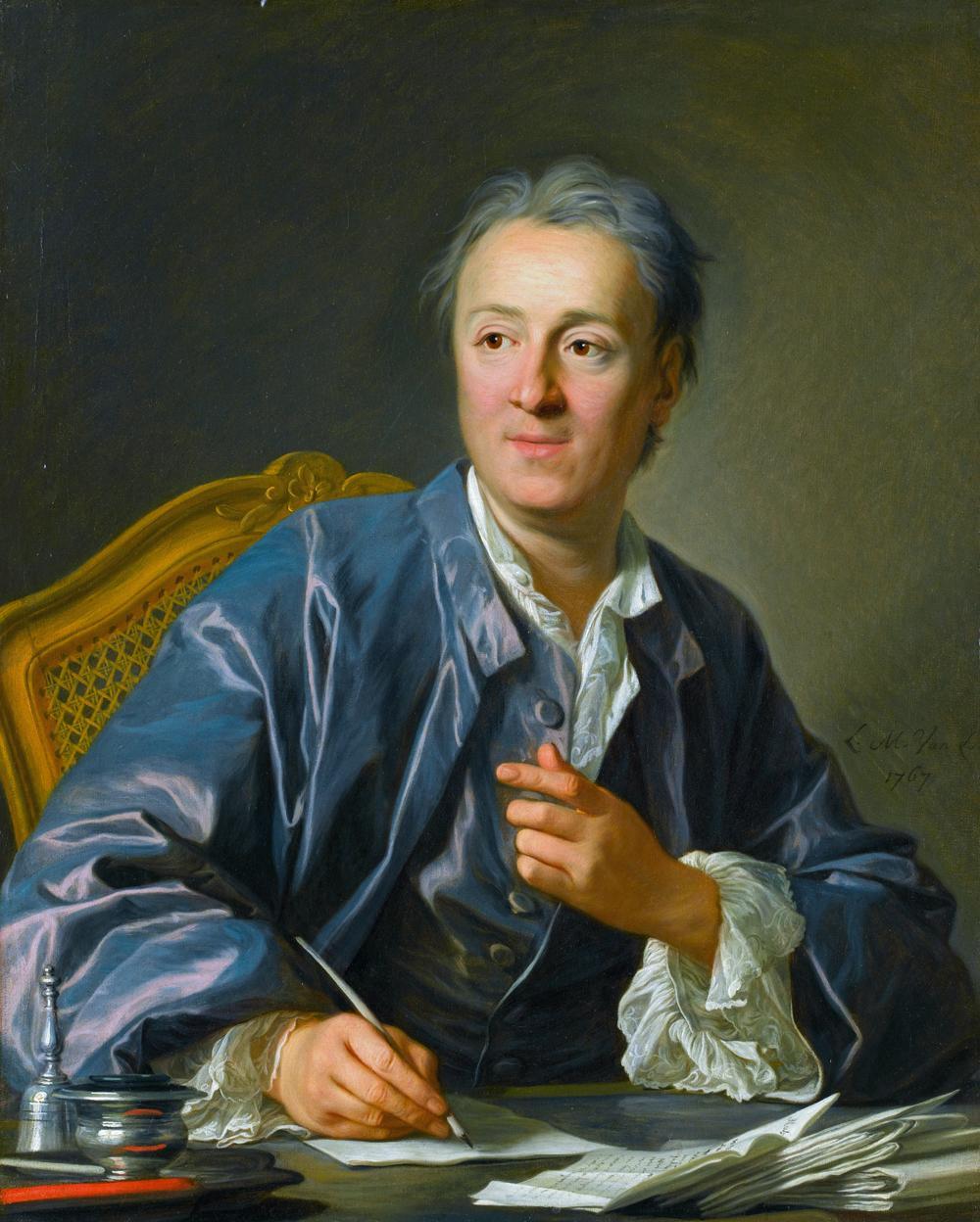 Denis Diderot. Maleri.