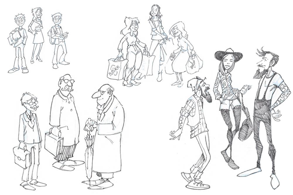 Målgrupper. Illustrasjon.