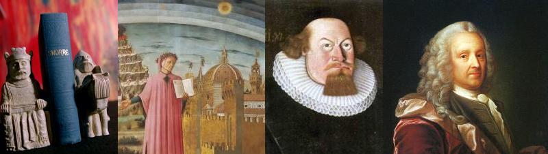 Forfattere i perioden middelalderen til opplysningstida